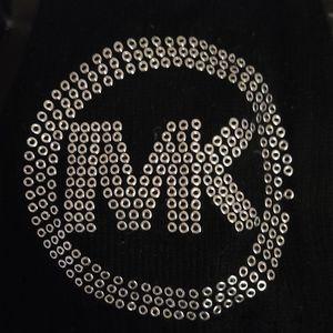 Michael kors scarf black gently used